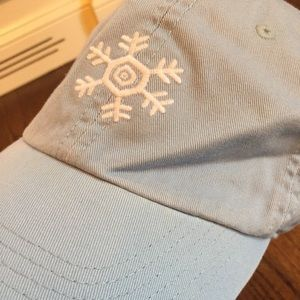 Life is Good hat- light blue snowflake