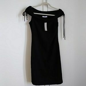 Mango black dress. NWT