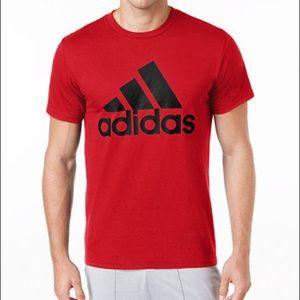 men's adidas badge of sport classic logo t-shirt