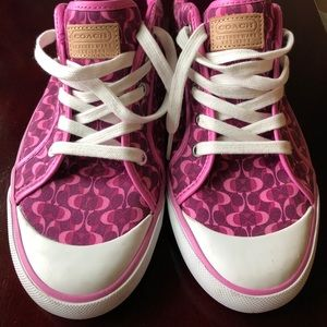 Brand New Pink Coach Shoes
