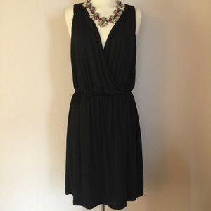 NWT Walter Baker Grecian Black Dress Sz Small