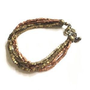 Premier Designs Mixed Metals Bead Bracelet