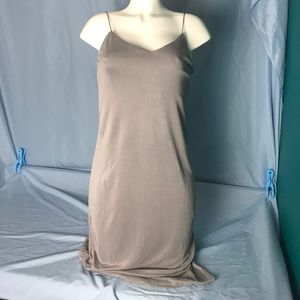 TopShop Cupro Midi Slip Dress