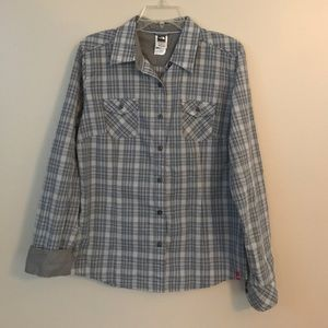 Women's The North Face plaid button down top