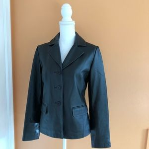 Leather jacket Margaret Godfrey size small