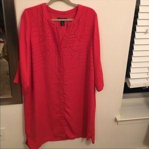 White House Black Market shirt dress - Beautiful!