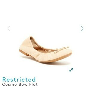 Restricted Ballet Flats 6/6.5 Cosmo Bow Flat