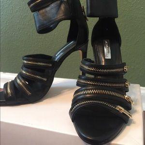 BCBG Zipper High Heel