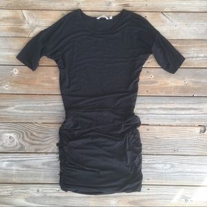 Athleta // Black Stretch Body Con Dress
