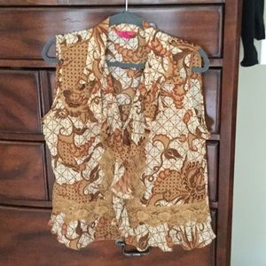 NWOT Sunny Leigh Blouse