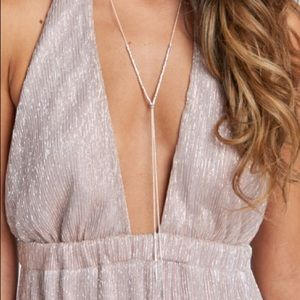 Gorjana Laguna Adjustable Necklace Silver