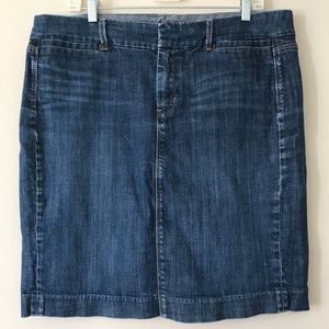 Gap Limited Edition classic jean skirt