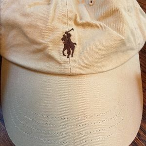 Polo hat- adjustable NWT tan/khaki