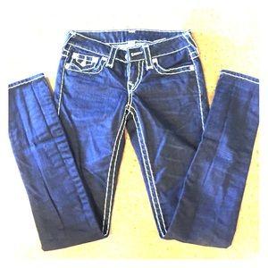 True religion skinny jeans. Size 25. Worn once