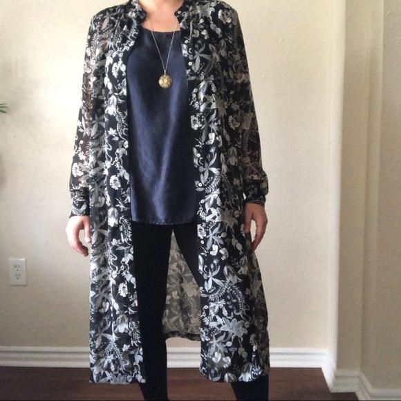 H&M Dresses   Hm Plus Size Long Sheer Maxi Dress   Poshmark
