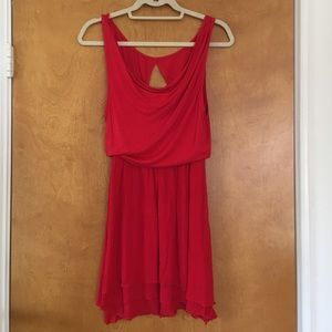 FP Red Dress S