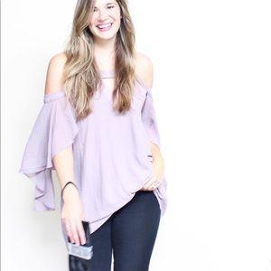 Pink Blush Lavender tunic