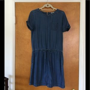 Chambray Halogen Dress XS