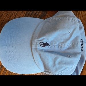 Light blue Polo baseball cap- adjustable NWT