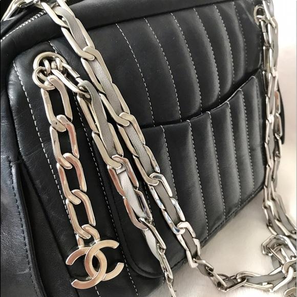 d36a81fd50fb CHANEL Handbags - SALE Chanel Black Quilted Mademoiselle Ligne Bag