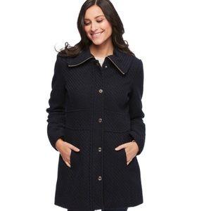 Jessica Simpson Plus Size Wool Blend Coat