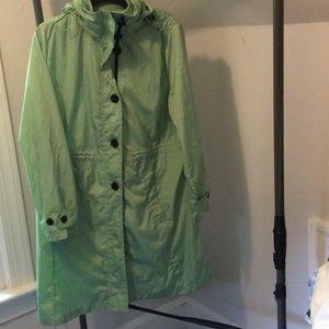 All weather raincoat