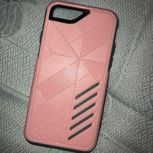 iPhone 6/6s/7 Pink OtterBox Case 2PCS!