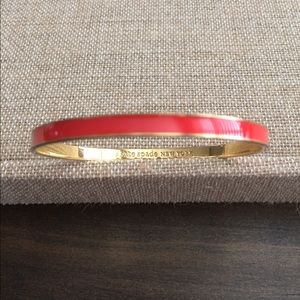 Kate spade orange bangle