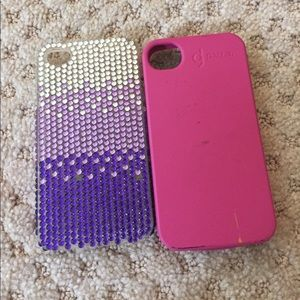 Two I phone 4 cases