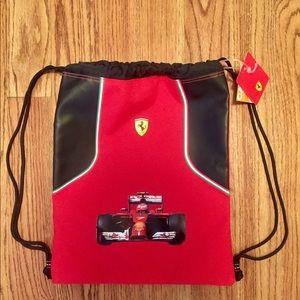 NWT Ferrari cinch sack