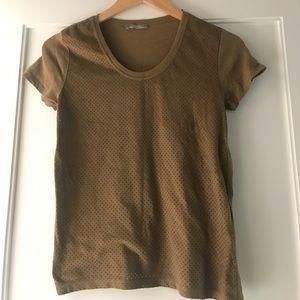 Khaki Zara t shirt