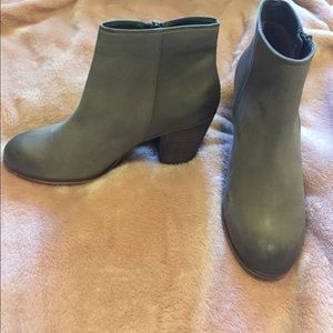 BP Taupe booties.