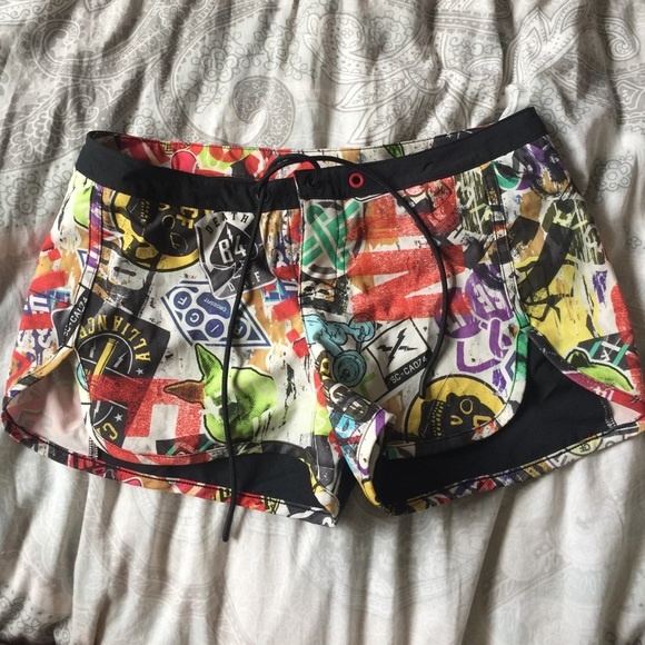 Reebok Crossfit Graffiti Shorts