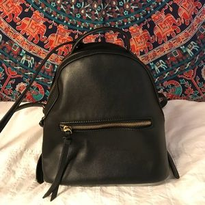 Faux Leather Forever 21 small backpack