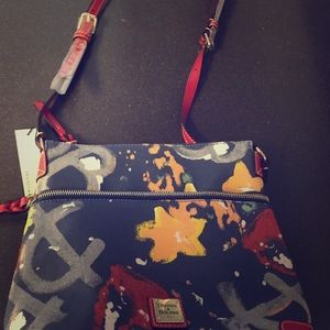 Dooney & Bourke Graffiti Crossbody Bag NWT
