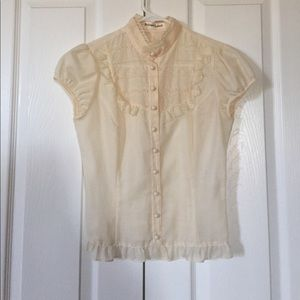 Like-new Victorian style blouse from Japan