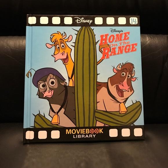 Disney Other Disney Home On The Range Movie Book Poshmark