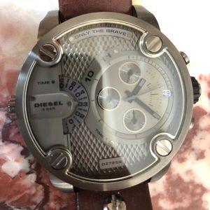 Diesel UNUSED Watch stainless steel Water Resistan