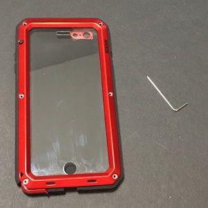 Nexium Phone Case • iPhone 6/7 Plus • Red/Black