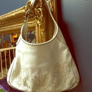 Cole Haan hobo leather bag.
