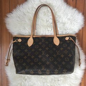 AUTH Louis Vuitton Neverfull PM Purse Bag Tote