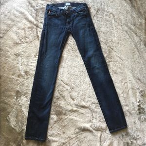 Hudson super skinny jeans size 24! MAY style