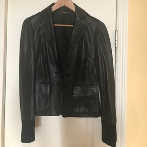 DIANEvonFURSTENBERG Leather Blazer