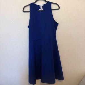 navy blue work dress