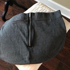 GAP gray skirt