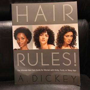 Hair Rules! Ultimate Kinky, Curly, Wavy hair care