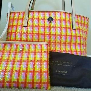 Kate Spade Small Tote & Change Purse