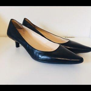 Calvin Klein Classic Black Kitten Heel