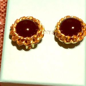 Christian Dior Vintage Roundearrings