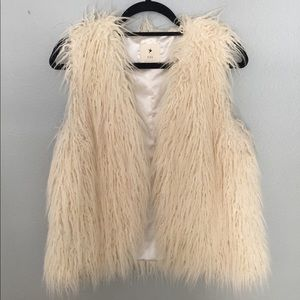 Jackets & Blazers - Faux Sheep Fur Vest